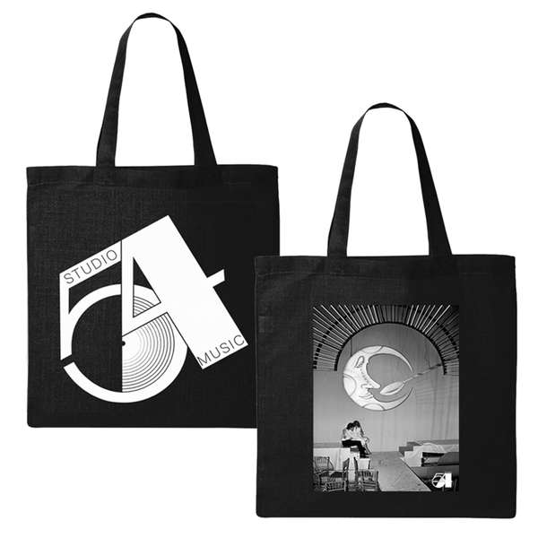 Studio 54 X Bill Bernstein Moon & Spoon + Logo Tote
