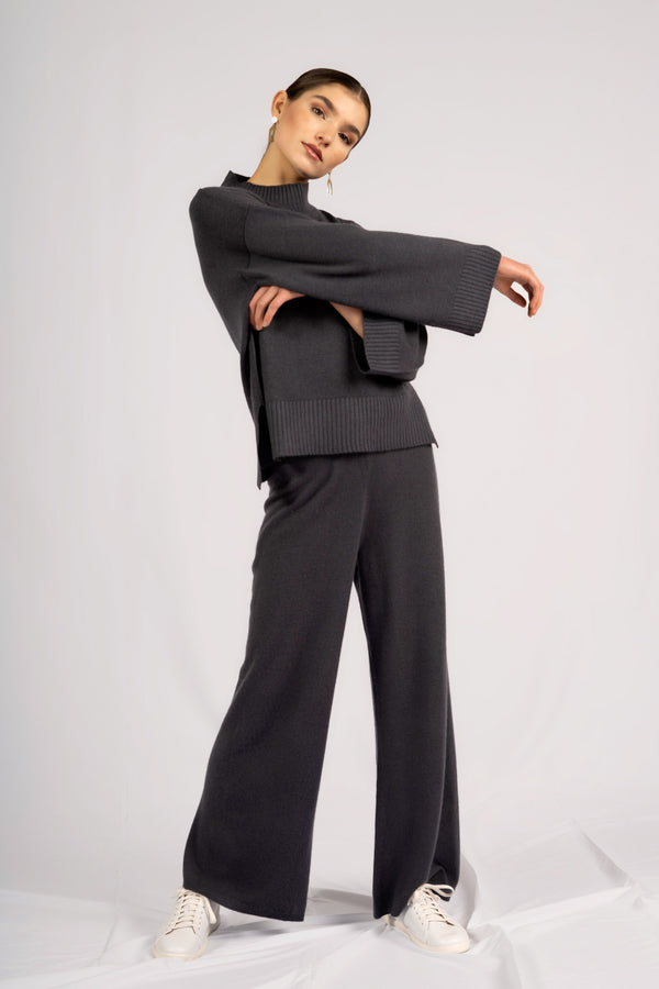 GINA WIDE LEG PANTS.