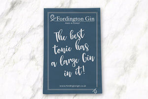 Fordington Gin tea towel
