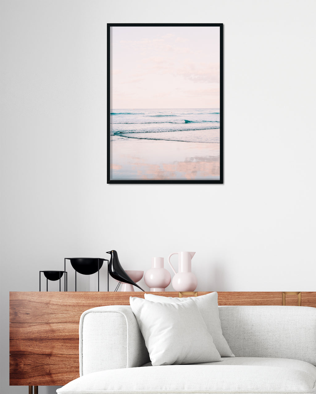 Ocean print home decor