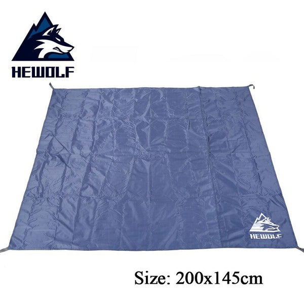Hewolf Oxford Waterproof Tent Floor Saver Mat Picnic Barbecue mat Hiking Sand beach Rest Camping Tarp Tent Mattress