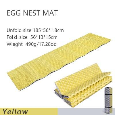 Widesea camping mat portable sleeping pad picnic foam bed mattress travel trekking equipment blanket  Waterproof Moistureproof