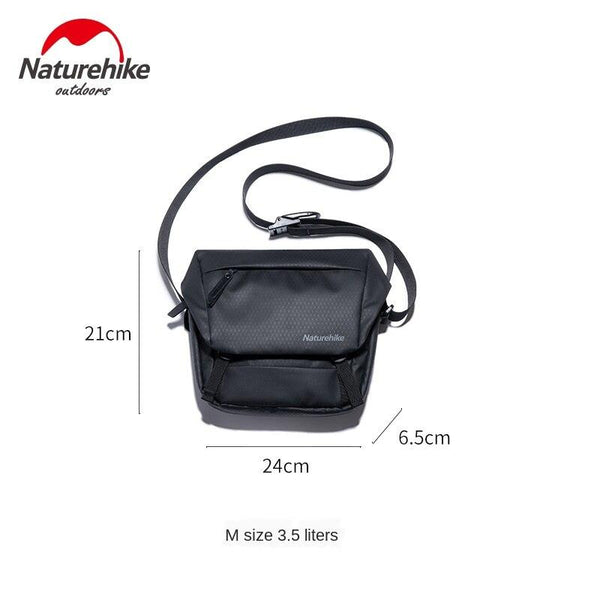 Naturehike Casual Haversack Outdoor Sports Fitness Shoulder Bag Men Women Fashion urban satchel works commuter bag NH20BB011