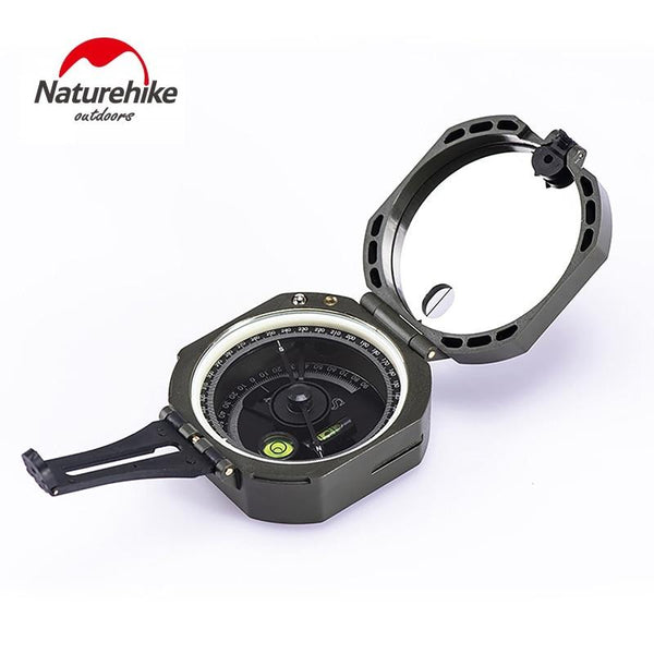Naturehike Outdoor Camping Compass Geological Survey High Precision Fluorescent Portable Multifunction Military Compass
