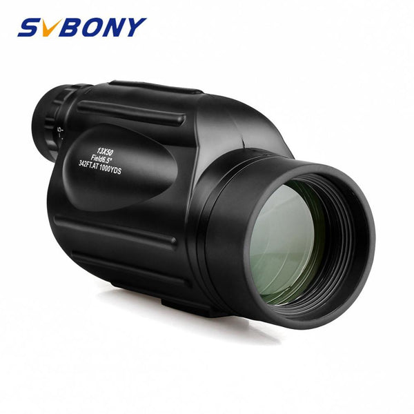 Svbony Monocular 13x50 SV49 High Power Binoculars Waterproof Telescope for Hiking Hunting Camping BirdWatching Tourism