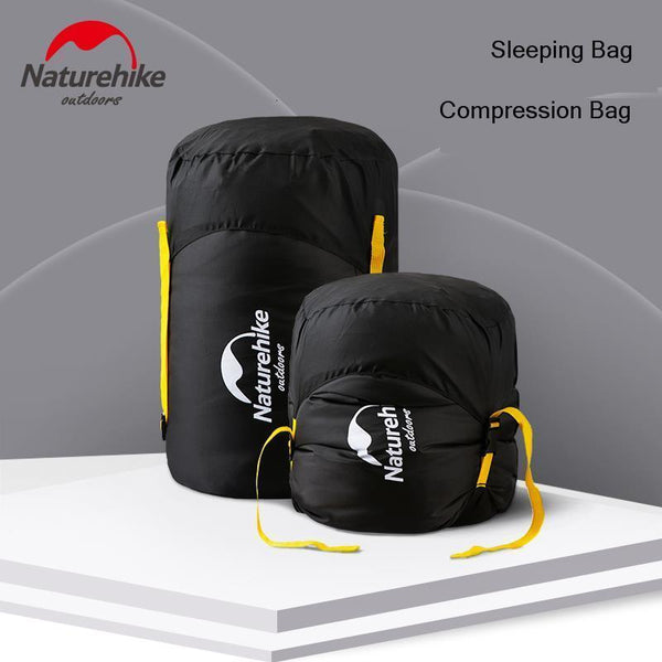 Naturehike Sleeping Bag Storage Bag 300D Fabric Multi-function Compression Sack Waterproof Portable Travel Sundries Bag Camping