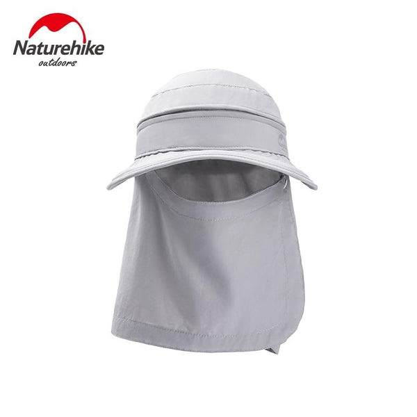 Naturehike Multifunctional Detachable Fisherman Hat 4 Ways To Wear Empty Top Sun Neck Protection All-round Widen Brim Shade Hat