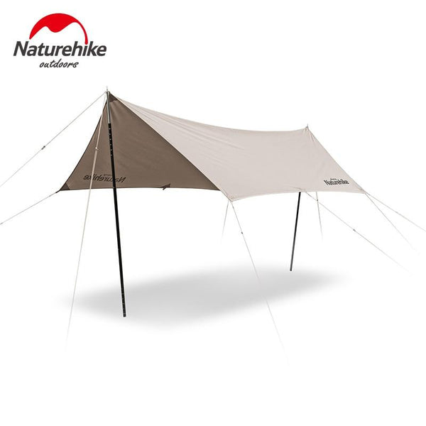 Naturehike Outdoor Ultra Light Camping Cotton Cloth Canopy 5-8 Person Hexagon Courtyard Sunshade Family Waterproof Tarp Tent