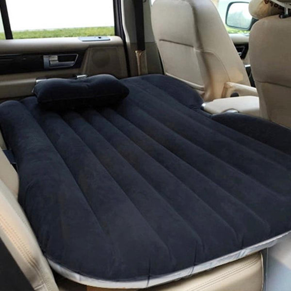 EAFC Car Air Inflatable Travel Mattress Bed Universal for Back Seat Multi functional Sofa Pillow Outdoor Camping Mat Cushion