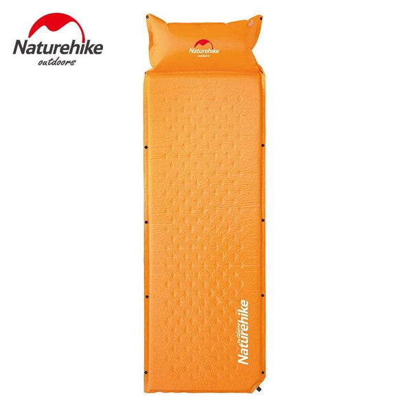 Naturehike Inflatable Mattress With Pillow Beach Mat Double Inflatable Cushion Outdoor Tent Camping Mat Air Bed Sleeping Pad