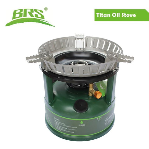 BRS Camping Oil Stove Outdoor Cooking Large Fire Cookware Oil-Burning Boiler for Outdoor Picnic Camping Equipment Oil Burner