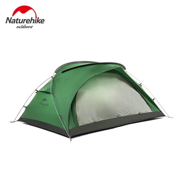 Naturehike 20D Silicone Portable Ultralight Tent 2 People Waterproof Double Layer Outdoor Tent Aluminum Rod Camping Tents Mat