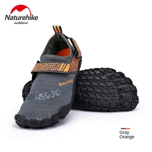 Naturehike Rubber Sole Wading Shoes Non-Slip Men Women Soft Shoes Dive Boots Beach Socks Shoes Swimming Shoes NH20FS022
