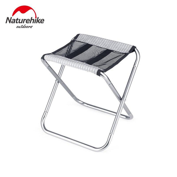 Naturehike Folding Fishing Chair Lightweight Picnic Camping Chair Foldable Aluminum Alloy Outdoor Portable Stool