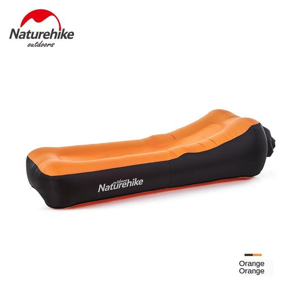 Naturehike Double-Layer Inflatable Sofa Bed Lunch Break Beach Portable Lazy Net Red Air Cushion Chair NH20FCD05