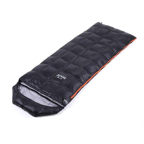 Hewolf Down Sleeping Bag Fashion Warmth Waterproof Adult Winter Envelope Duck Down Sleepings Bag For Backpacking Camping Hiking