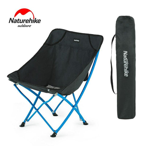 Naturehike Lightweight Portable Heavy Duty Outdoor Folding Beach Chair Fold Up Fishing Picnic Chair Foldable Camping Chair Seat