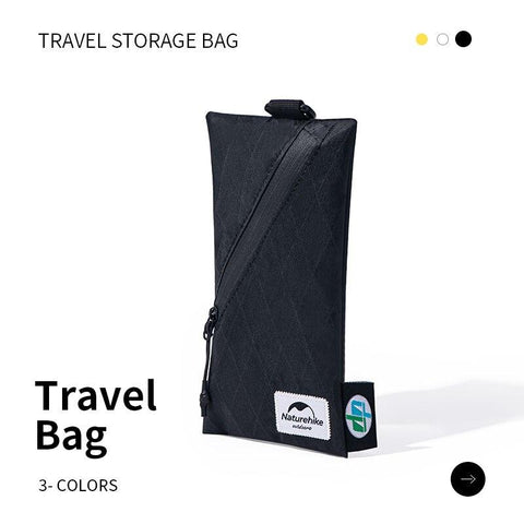 Naturehike XPAC Travel Storage Bag Mobile Phone Waterproof Ticket Passport Certificate Bag Coin Purse Outdoor Daily Supplies