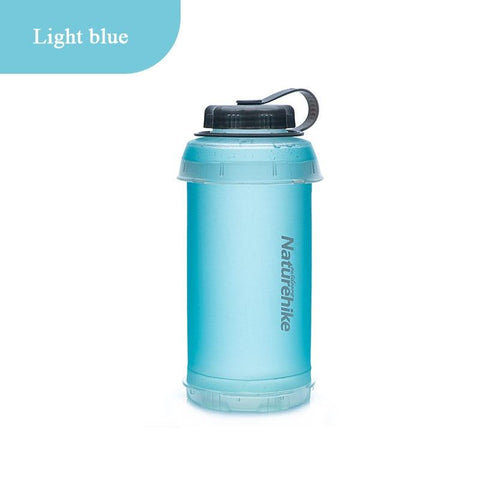 Naturehike Outdoor TPU Soft Cup Portable Hiking Cycling Sports Ultra Light Fitness Kettle Folding Bottle