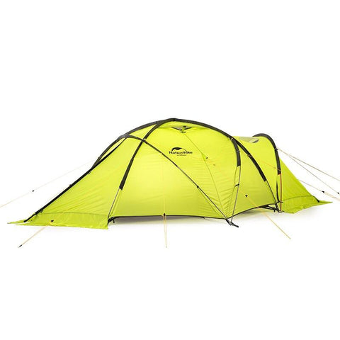 Naturehike Lgloo Double Resident Alpine Tent Thicken Windproof And Rainproof Four Seasons Warm 70D Tent NH19ZP012 (Green)