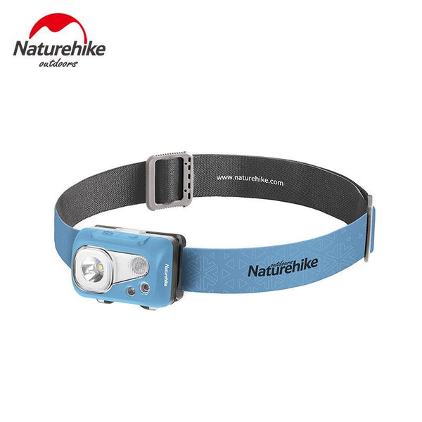 Naturehike New IPX7 Outdoor Waterproof Headlights Multifunction Head-mounted Fishing Glare Ultra-long Endurance Lighting