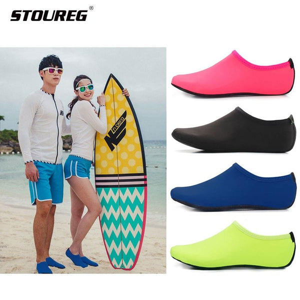 Men Women Water Shoes,Swimming Shoes Solid Color Summer Aqua Beach Shoes, Socks Seaside Sneaker slippers For Men, zapatos hombre