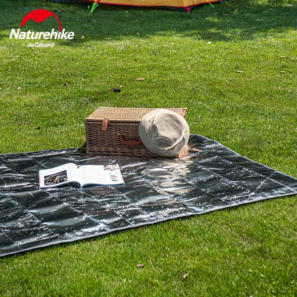 Naturehike Outdoor Picnic Mat Waterproof PE Aluminum Foil Tent Mat Folding Beach Floor Mattress Camping Small Sun Shelte