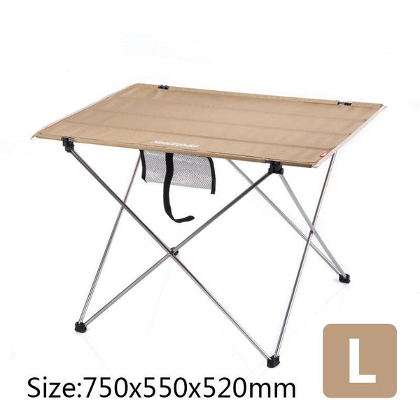 Naturehike Outdoor Camping Wild Dining Picnic Travel Thicken Oxford Cloth Ultra-light Carry Beach Folding Tea Coffee Table Desk