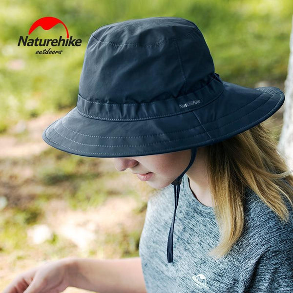 Naturehike Sun Protection Mountaineering Hat Sunscreen Hat Hiking Big Eaves Outdoor Shading Quick Drying Travelling Fishing Caps