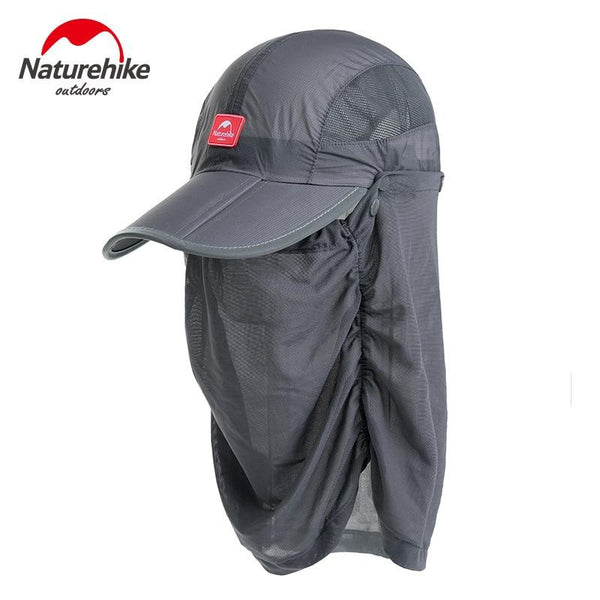 Naturehike Unisex Summer Uv Protection Anti-mosquito Fishing Cap For Man Women