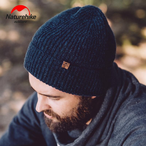 Naturehike hiking caps Winter Knitted Wool Hat man women Outdoor Keep warm in winter sports Thick camping hiking Hats