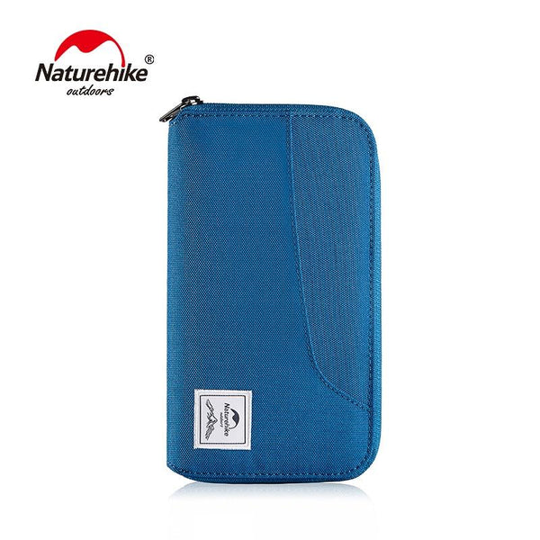 Naturehike RFID Travel Wallet Ultralight Portable Travel Bag Waterproof For Documents Credit Cards Multi Functional NH18X020-B
