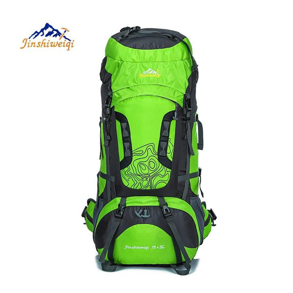 80L Large Outdoor Backpack Waterproof Unisex Nylon Travel Bags Camping Hiking Climbing Backpacks Waterproof Rucksack Sport bag