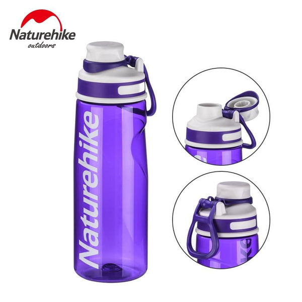 Naturehike 700ml Sports Water Bottle Outdoor Bicycle Running Hiking Bottle Portable Lightweight Water bottle NH19S005-H