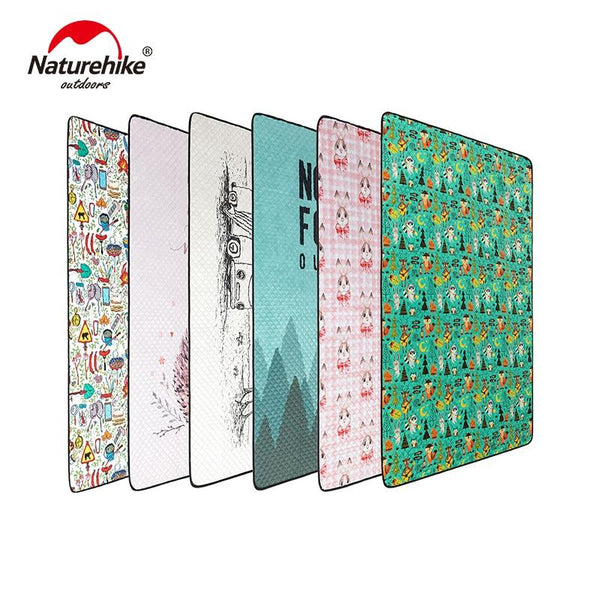 Naturehike Outdoor Picnic Mat Water-resistant Portable Beach Mat Folding Camping Mat 660g Moisture-proof Blanket NH19C024-Z