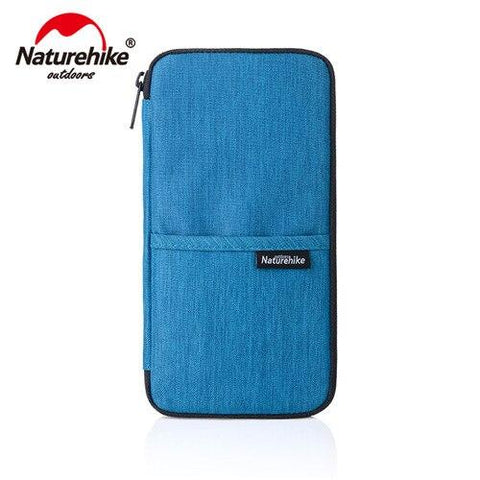 Naturehike Unisex Waterproof Multi Function Outdoor Sports Travel Wallet Bag For Cash Passport Cards Travel Hiking Purse