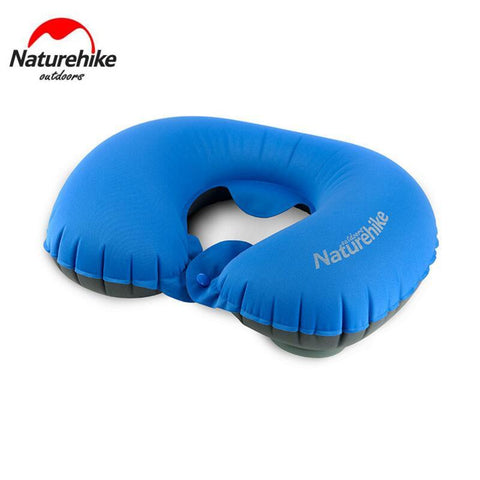 Naturehike Outdoor Travel Camping Ultralight Pressing Automatic Self Inflatable Air Pillow Compressed Non-slip U type