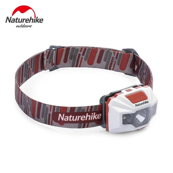 NatureHike-Adjustable 4 Modes Waterproof USB Charge LED Night Fishing Hiking Camping Cycling Headlamp Outdoor Lighting