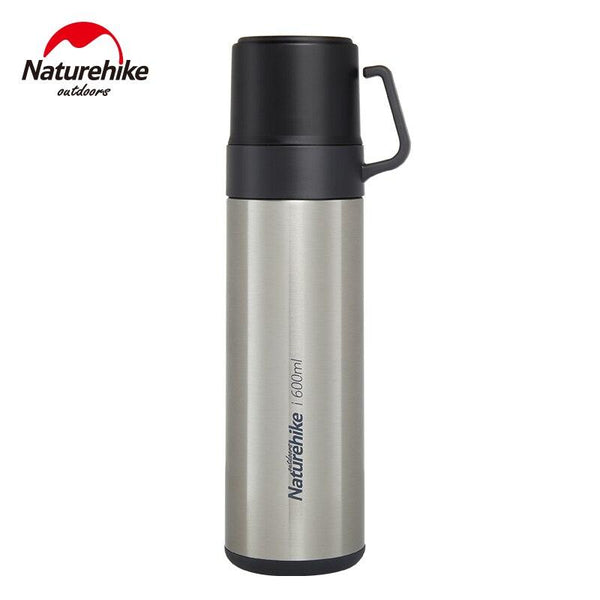 Naturehike double layer Outdoor Camping Multi-functional sports cup Stainless Steel Vacuum Bottle Cups portable sports bottle