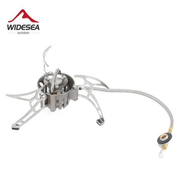 Widesea Portable Camp Shove Oil Gas Multi fuel Stove Camping burners outdoor Stove Picnic Gas Stove Cooking Stove burner (Multi fule stove)