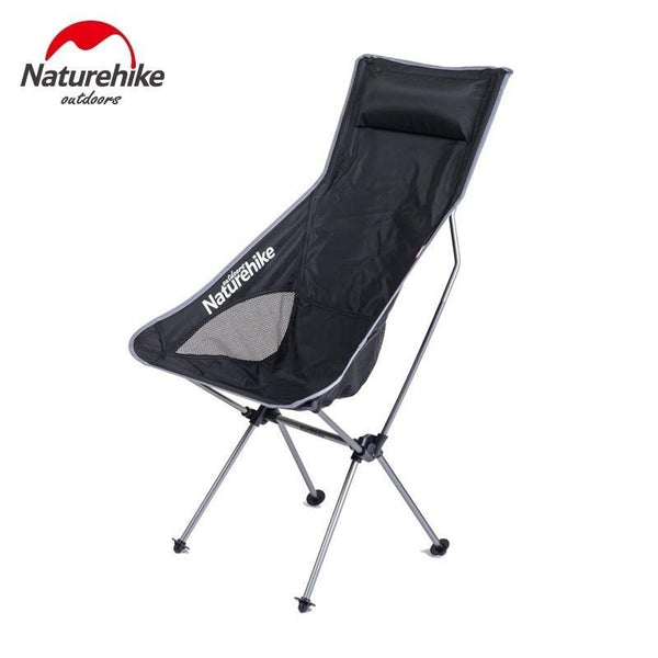 Naturehike Lightweight Outdoor Foldable Fishing Chairs Foldable Camping Fishing Picnic Chairs Aluminum Alloy Chairs NH17Y010-L
