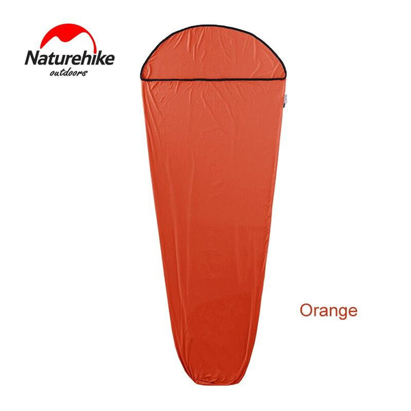 Naturehike Mummy Style Sleeping Bag Linner High Elastic Fiber Softable Portable Sleeping Bags for Spring Autumn Outdoor