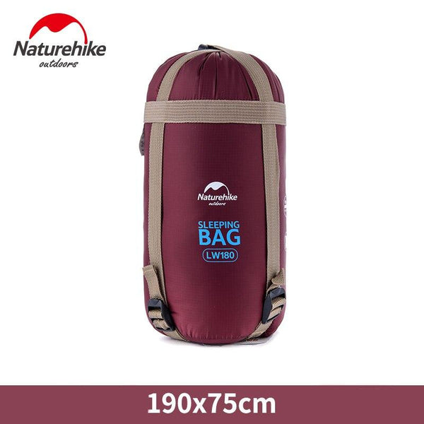 Naturehike sleeping bags Outdoor Camping hiking Spring Autumn Outdoor NH Envelope Sleeping Bag 190*75cm Single Cotton