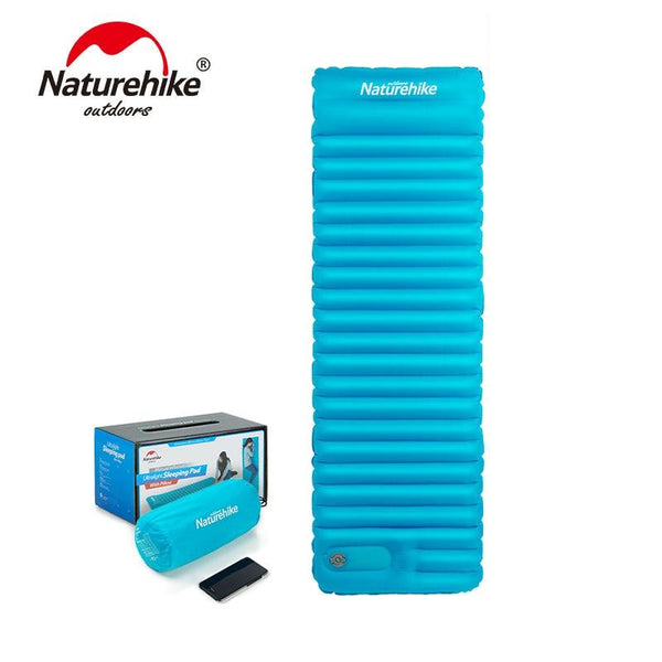 Naturehike Outdoor Push Inflatable Camping Mat Tent Outdoor Envelope Waterproof Sleeping Pad Picnic Folding Mattress