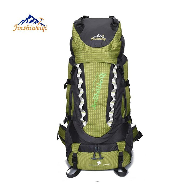 Outdoor Backpack 80L Camping bag Travel Sports Bags Waterproof Package Men Rucksack Climbing Bags Hiking Backpack
