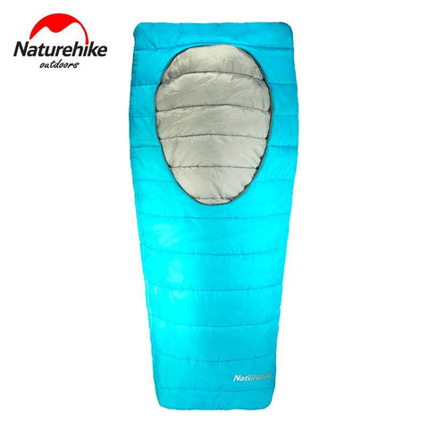 Naturehike Ultralight sleeping bags Outdoor Camping hiking Spring Autumn Cotton Lazy Bag Traveling Sleeping Bag