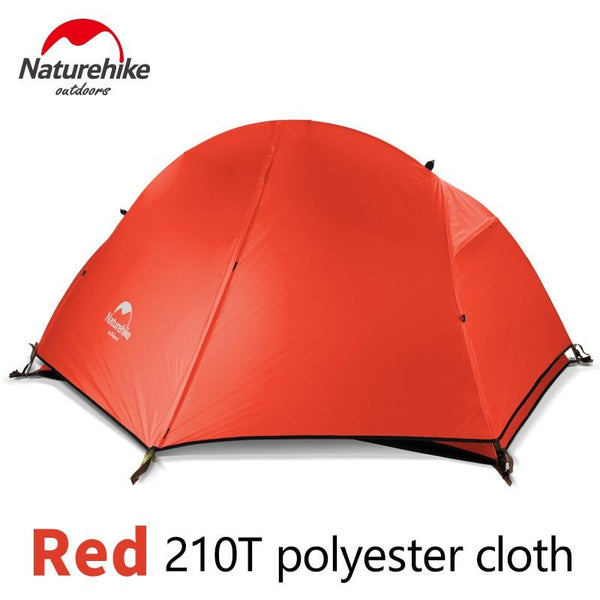 NatureHike 1-2 Person Double Layer Ultralight Tent Outdoor Picnic 3 Seasons Waterproof Tent Camping 20D Silicon Tent NH18A180-D