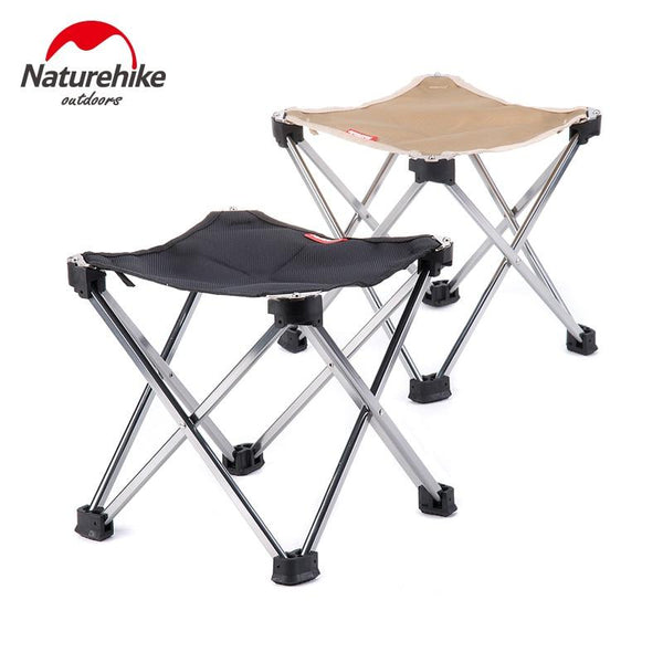 Naturehike protable Stool Folding Barbecue Chair Ultralight folding Chairs Camping Hiking outdoor backrest folding chair