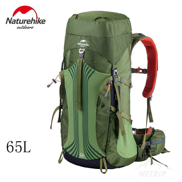 NatureHike Outdoor camping Bag 65L 55L Men Women Hiking Climbing rucksack CR Suspension NH Sport Bags Large Waterproof backpack