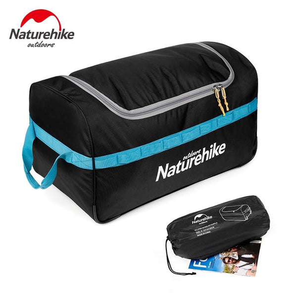Naturehike 85L 110L Foldable Wheeled Travel Luggage Suitcase Storage Bag Tourism Waterproof Foldable Rolling Luggage Bags